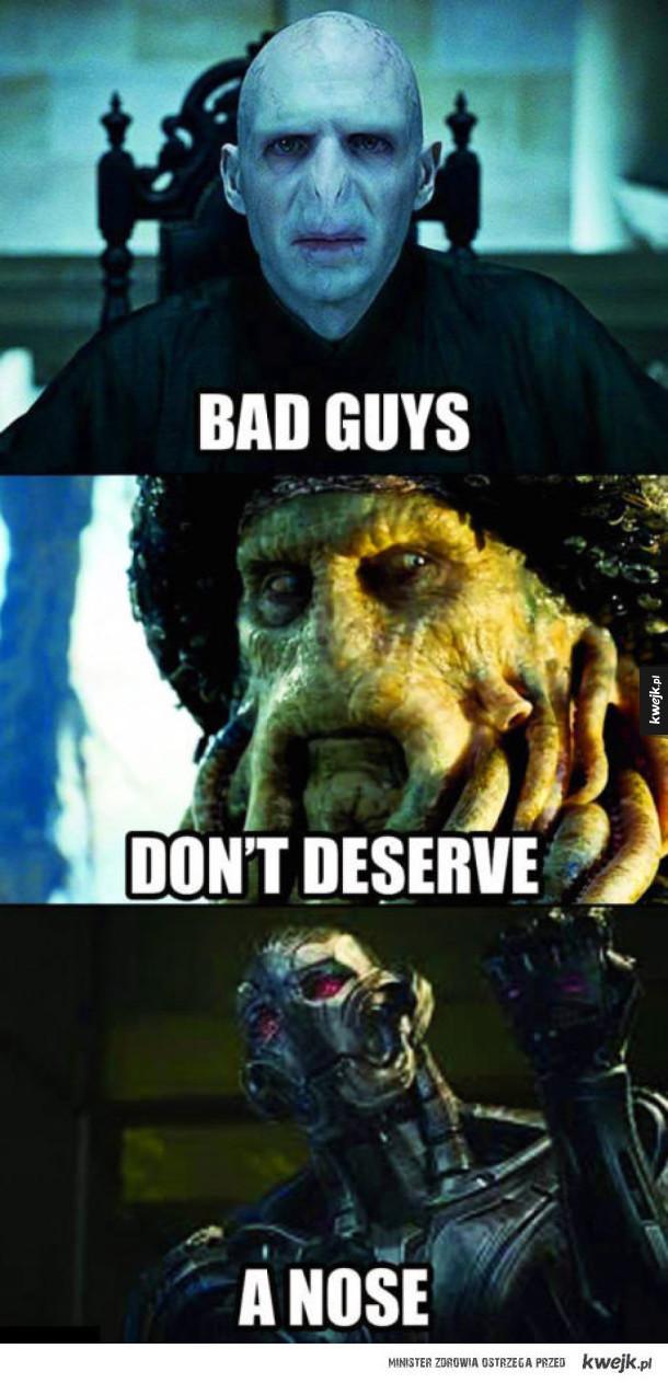 Źli nie zasługują na nos