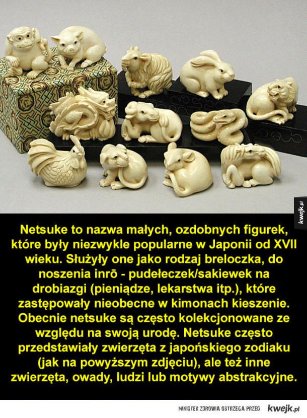 """Japońskie antyczne """"breloczki"""" netsuke"""