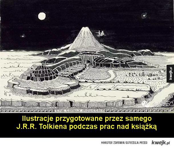 Ilustracje przygotowane przez samego J.R.R. Tolkiena podczas prac nad książką  Ilustracje Tove Jansson do szwedzkiego wydania z 1962 roku  Ilustracje Ryûichi Terashimy do japońskiego wydania z 1965 roku  Ilustracje Mikhaila Belomlinskyego do rosyjskiego wy