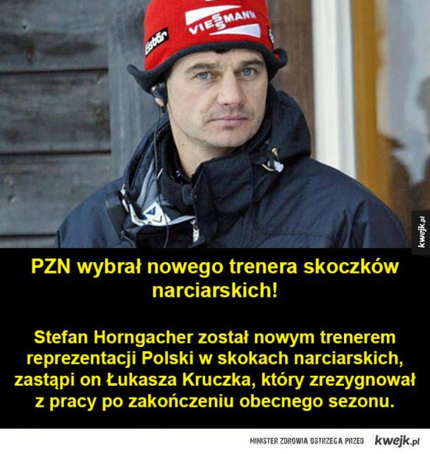 Nowy trener kadry skoczków