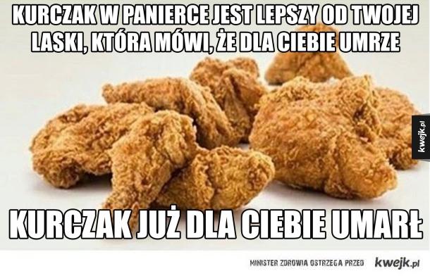 kurczak jest miłością
