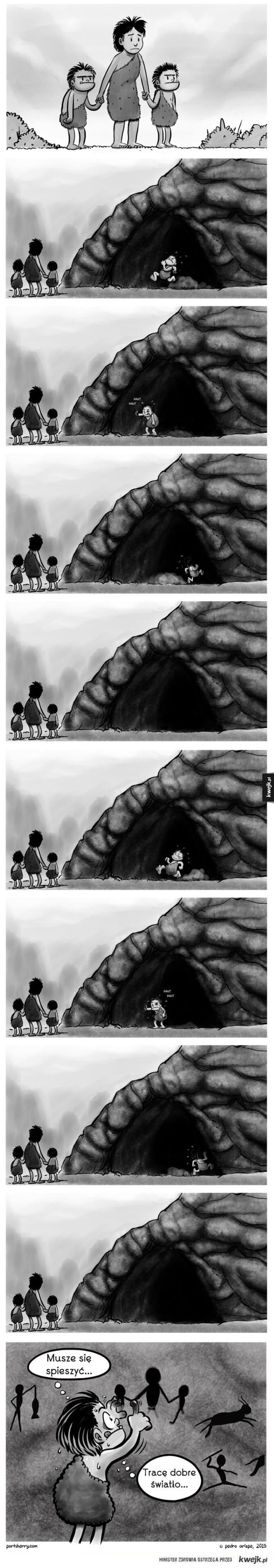 Problemy jaskiniowców