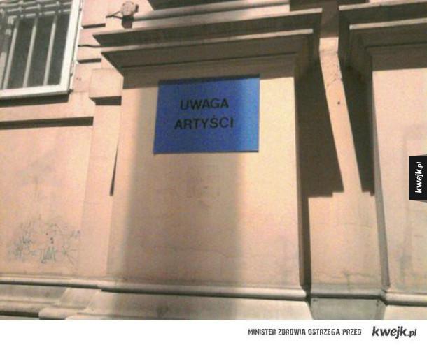W Warszawie...