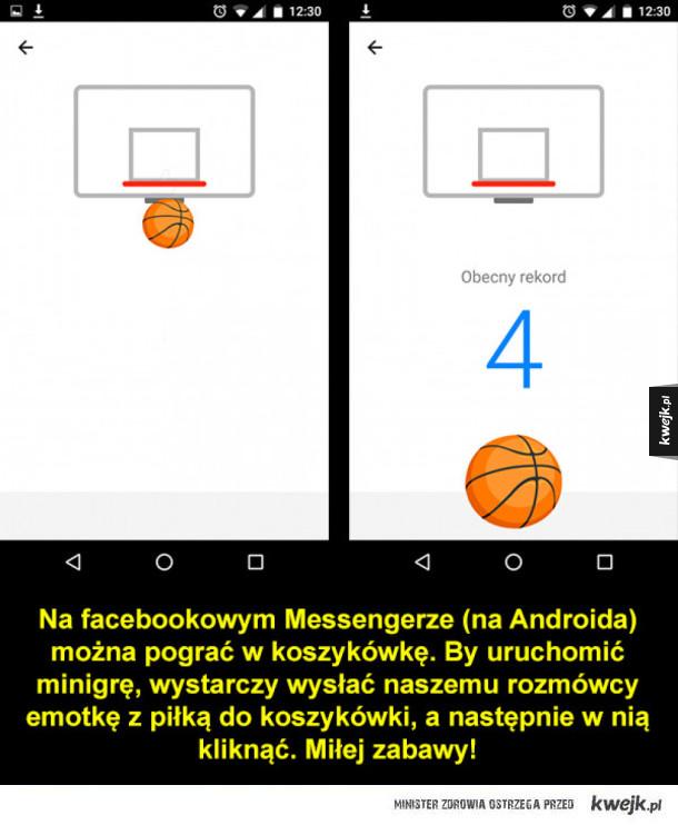 Minigra na Messengerze