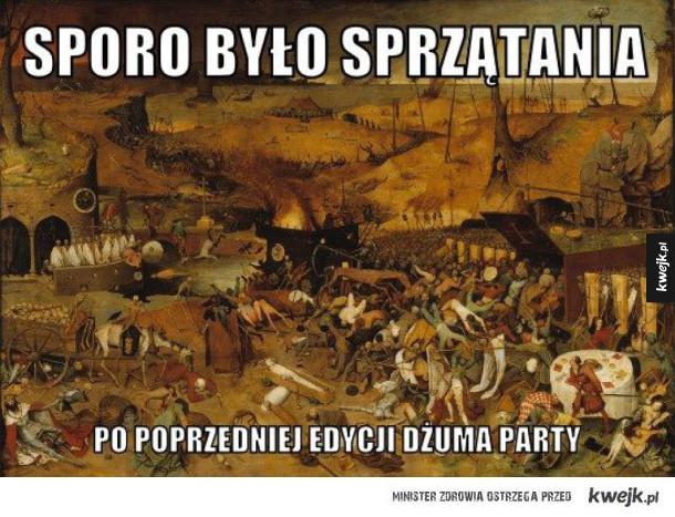 Dżuma party