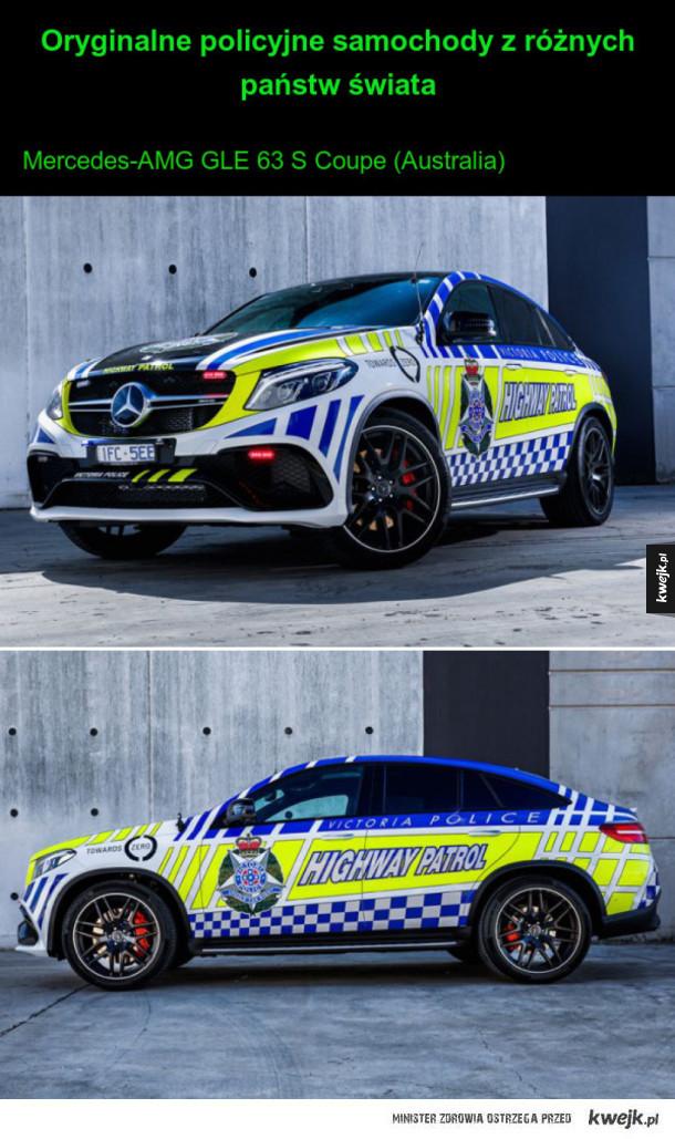 Policyjne samochody