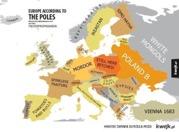 Europa oczami polaków