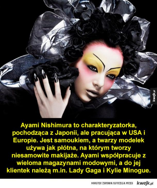 Niesamowite charakteryzacje Ayami Nishimury