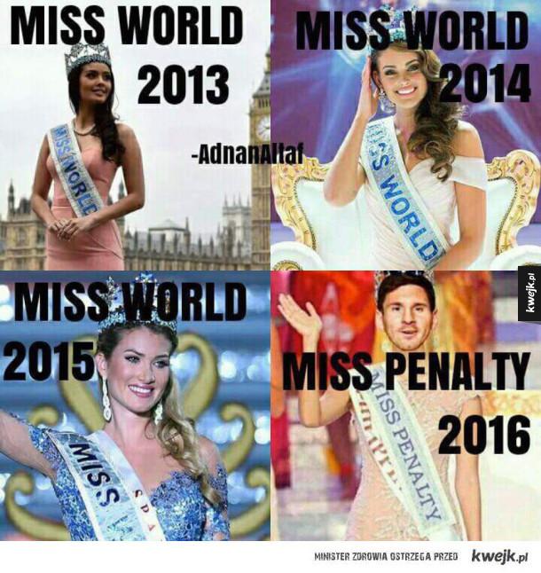 Messi i jego karne