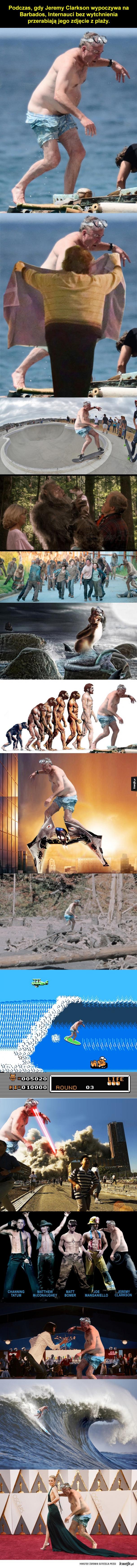 Jeremy Clarkson kontra photoshop