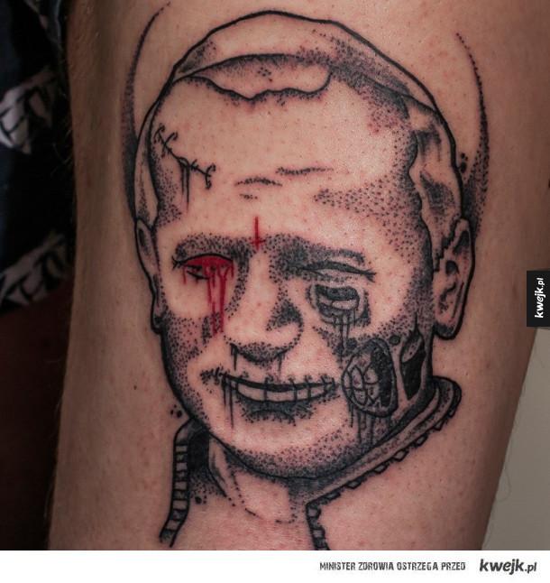 Niecodzienny tatuaż