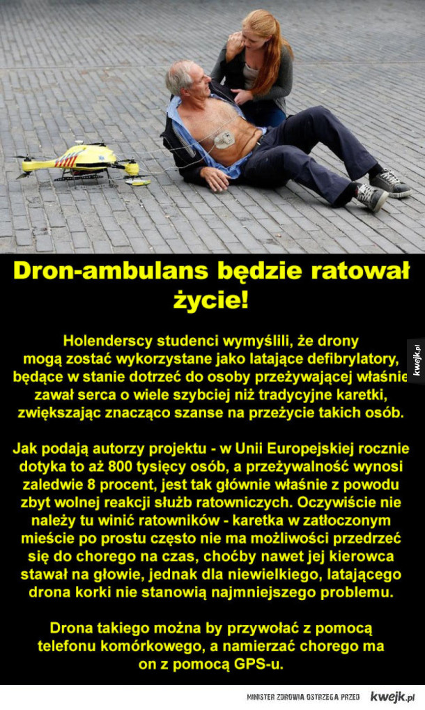 dron ambulans