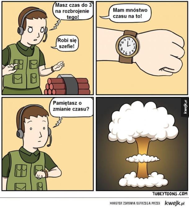 Przestawiamy czas
