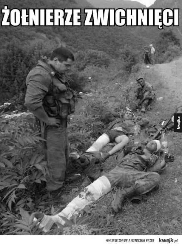 Żołnierze zwichnięci