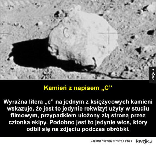 Dowody na to, że lądowanie na Księżycu do oszustwo