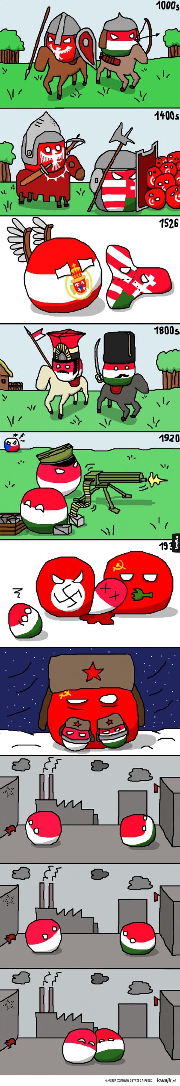 Dwa bratanki - komiksy z Polandball i HungaryBall!