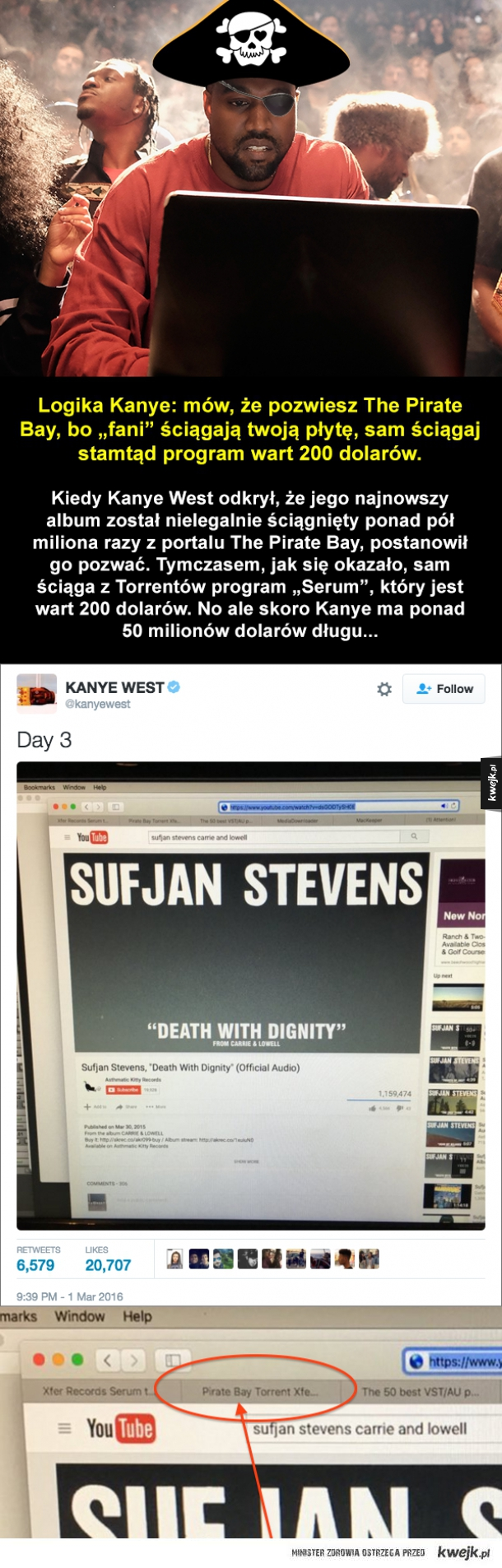 Brawa dla Kanye
