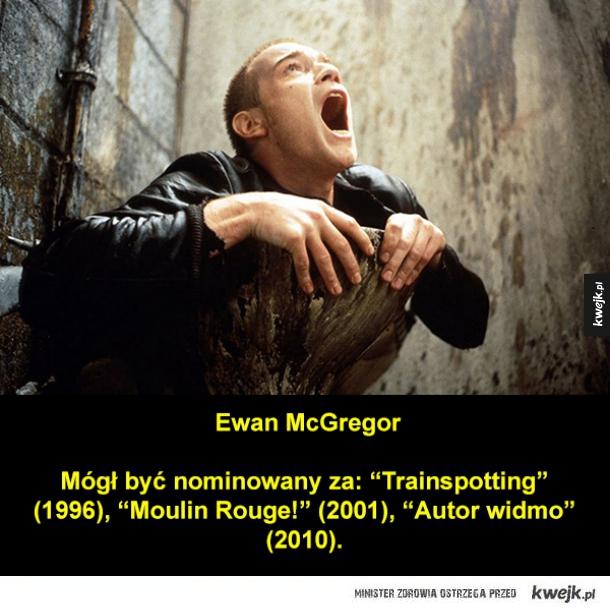 Świetni aktorzy, nigdy nienominowani do Oscara