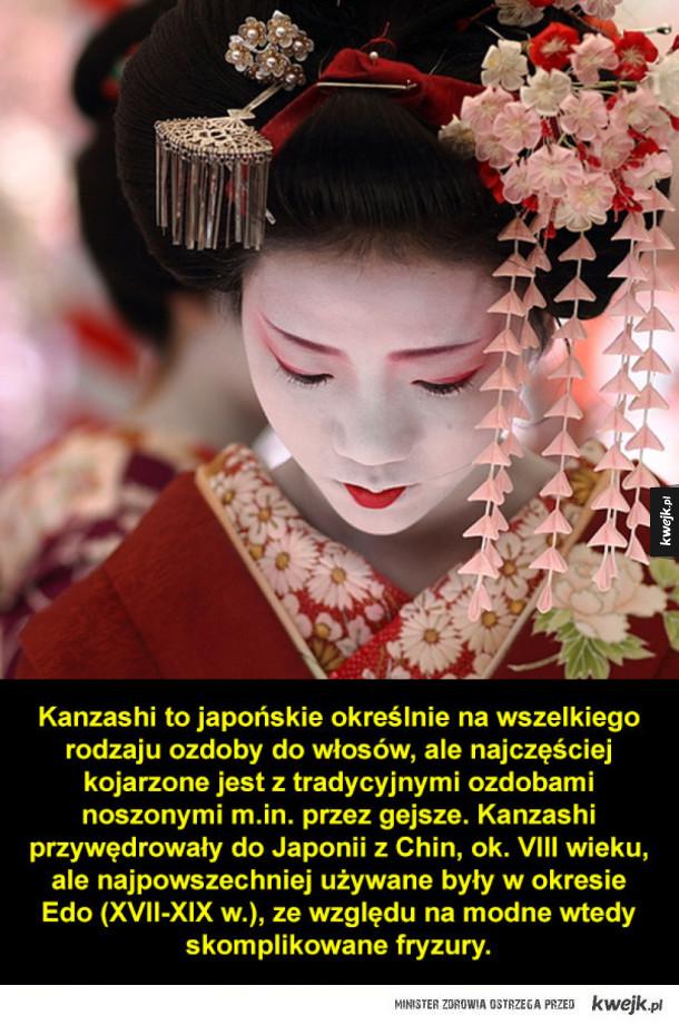 Kanzashi - japońskie ozdoby do włosów