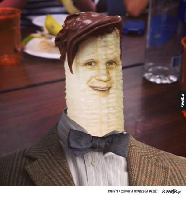 Matt Smith jako banan
