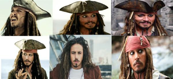 jack sparrow najlepszy pirat