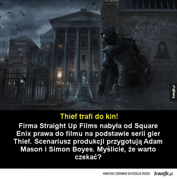 Gra Thief doczeka się ekranizacji