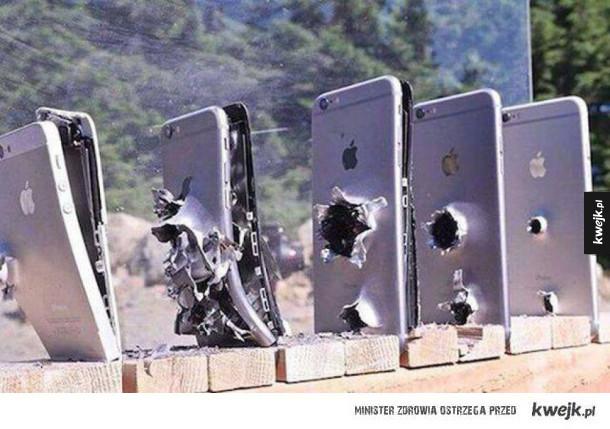 Ile iPhonów potrzeba żeby zatrzymać kulę?