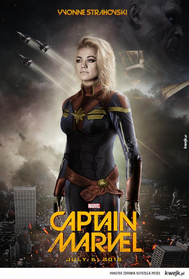 To byłaby fajna Captain Marvel