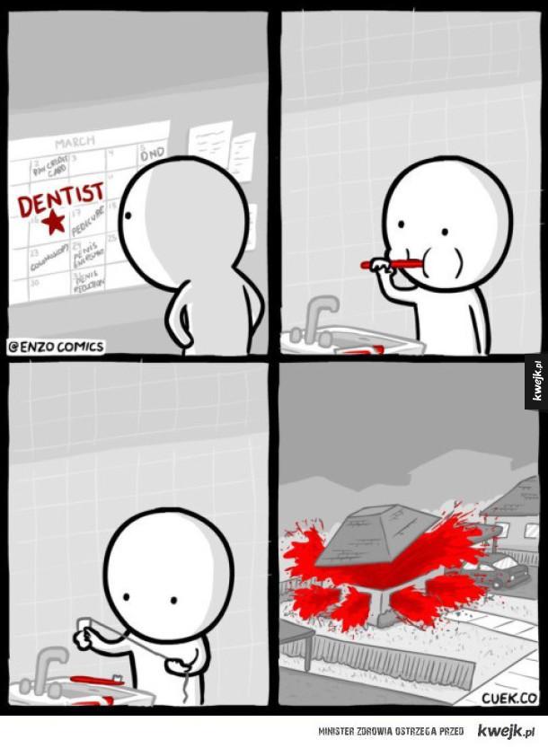 Nić dentystyczna...