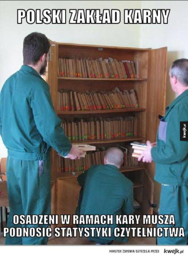 Statystyki czytelnictwa w Polsce