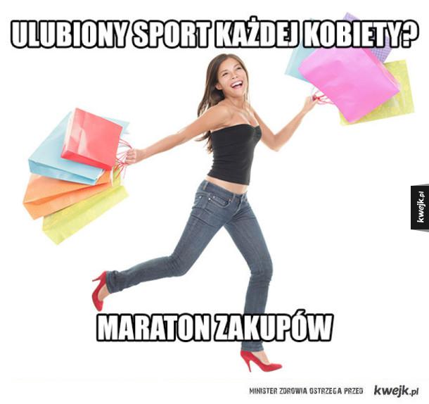 Ulubiony sport kobiet