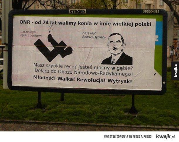Bardzo ciekawy plakat