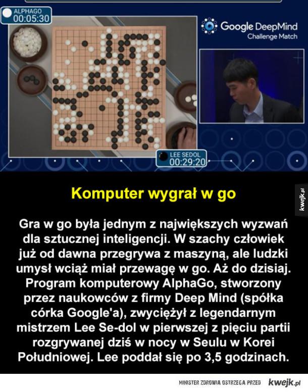 Kolejny punkt dla sztucznej inteligencji