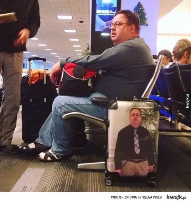 Już nie pomyli walizek