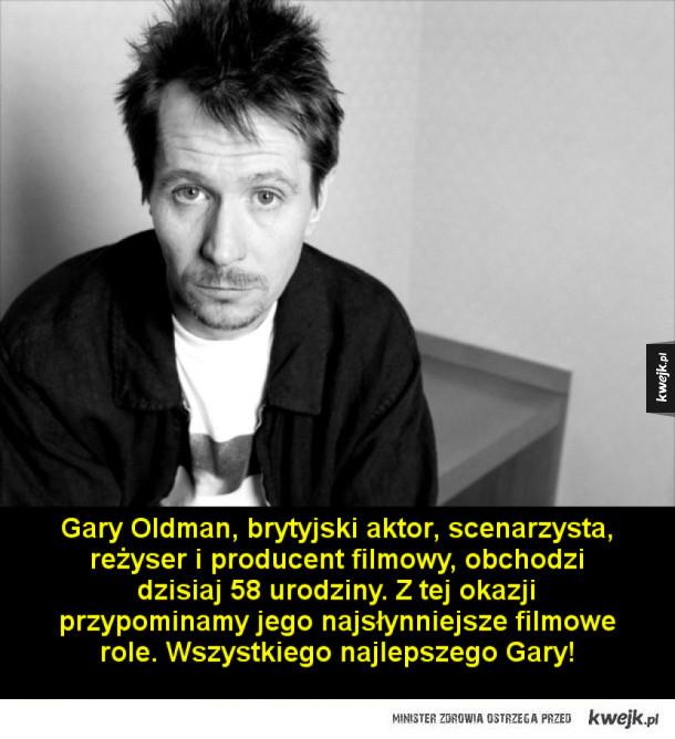 Gary Oldman kończy dziś 58 lat