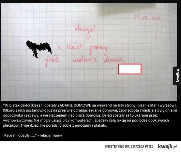 Największe absurdy jako można znaleźć w polskich szkołach