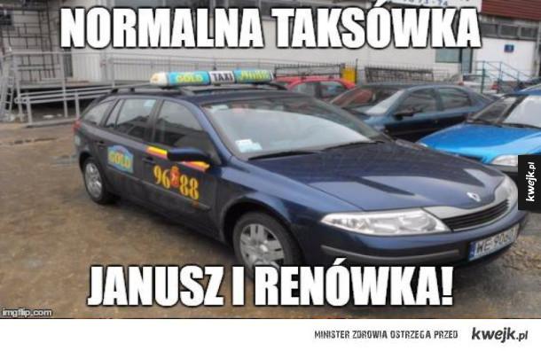 Typowa taksówka