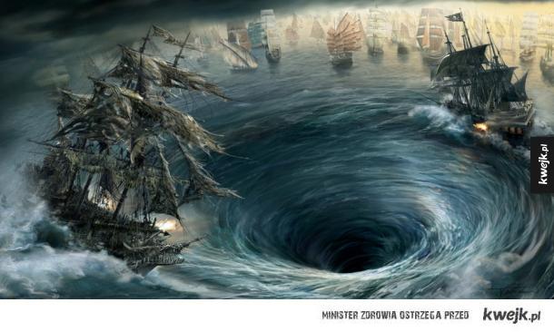 Grafiki koncepcyjne do Piratów z Karaibów