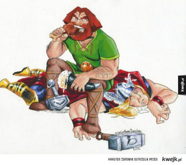 Thor vs Prawdziwy Thor