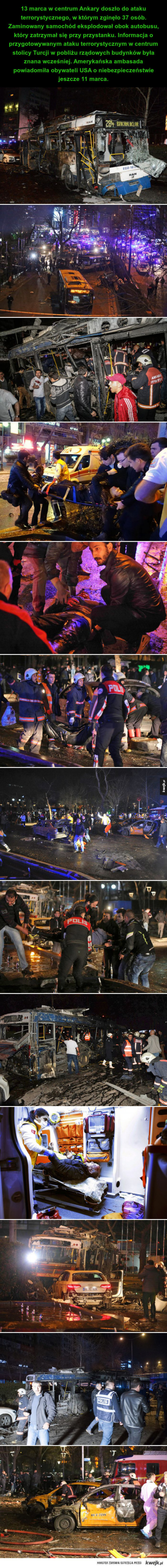w centrum Ankary doszło do ataku terrorystycznego