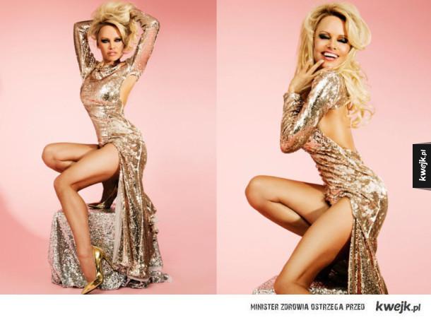 Pamela Anderson w kampanii Missguided