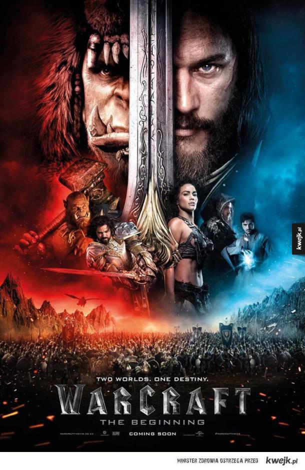 Nowy plakat ekranizacji Warcraft