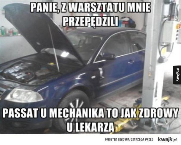 passat u mechanika