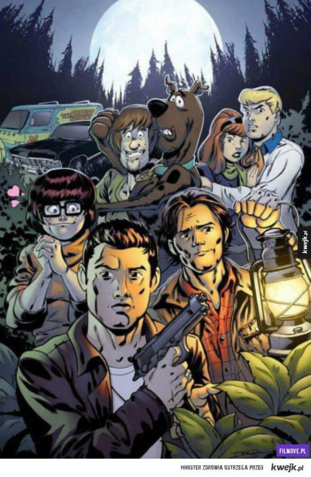 Scooby Doo - Supernatural crossover