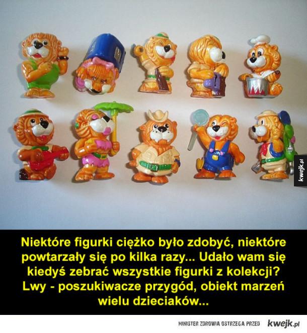 Kultowe zabawki z Kinder Niespodzianek