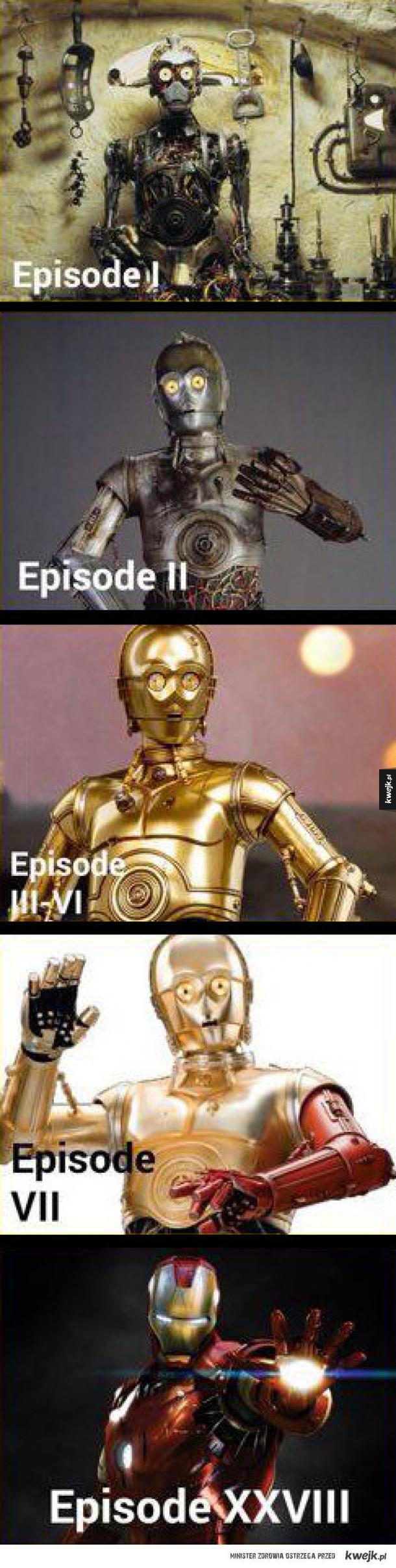 Ewolucja C3PO