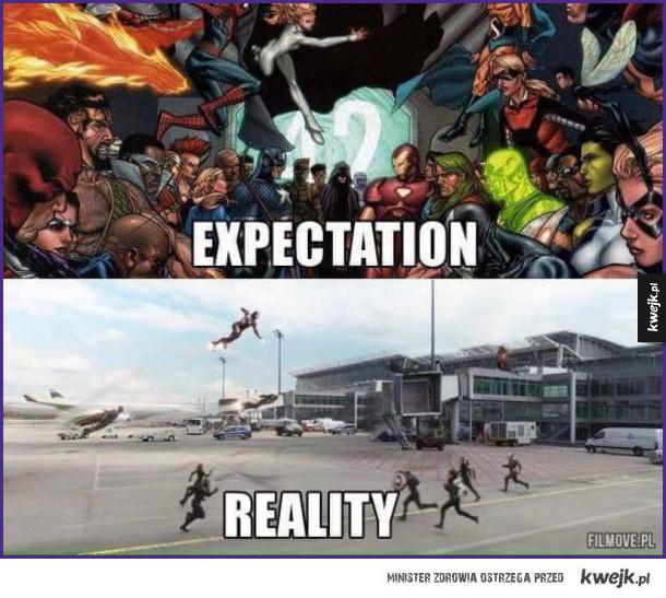 Civil War: oczekiwania i rzeczywistość