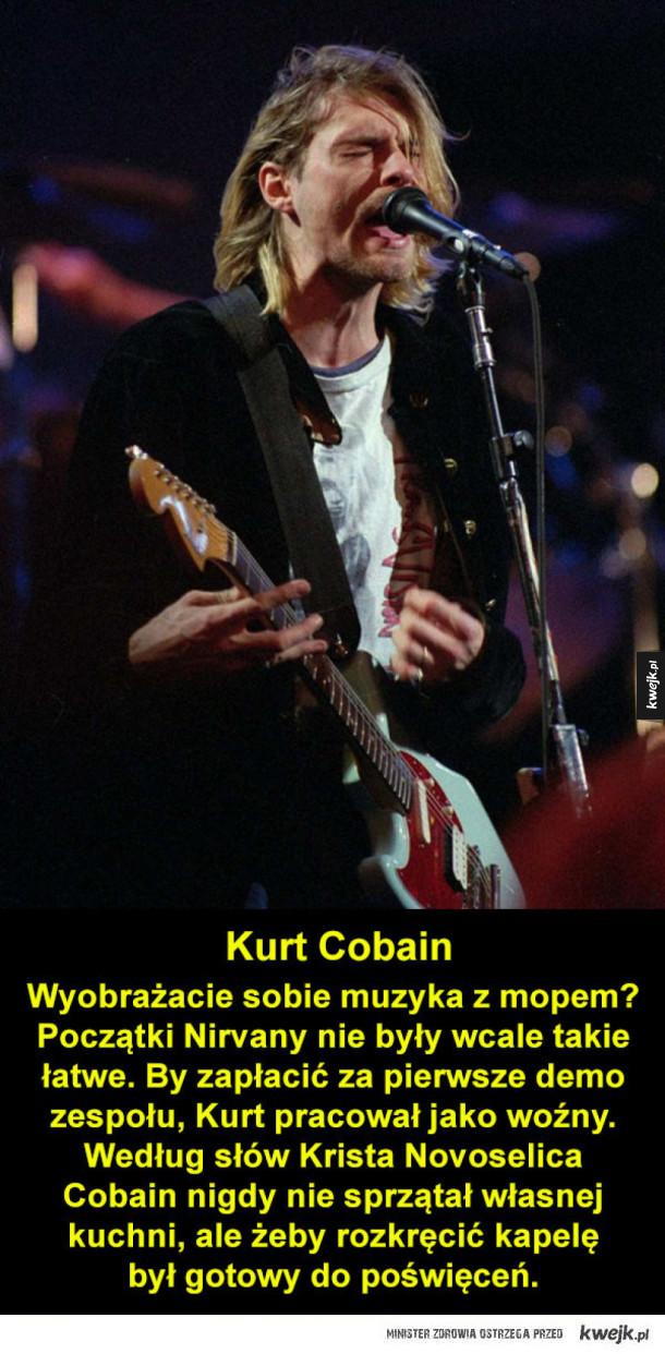 Czym zajmowały się gwiazdy rocka zanim odniosły sukces