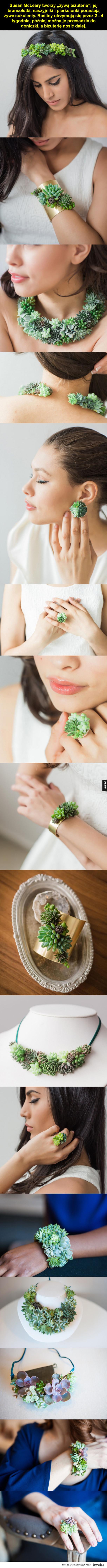 Żywa biżuteria