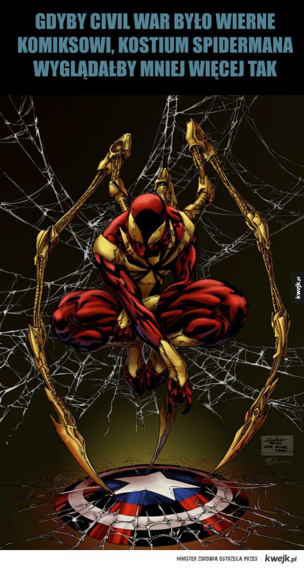 Spiderman w Civil War